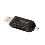 устройство для чтения карт памяти Ginzzu GR-583UB черный