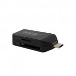устройство для чтения карт памяти Ginzzu GR-584UB черный