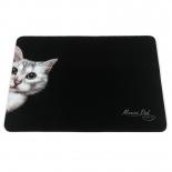 коврик для мышки Dialog PM-H15 cat, черный