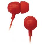 наушники BBK EP-1160S красные