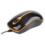 мышка Gembird MUS-U-004-O USB, черно-оранжевая