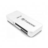 устройство для чтения карт памяти Transcend RDF5 Single-Lun Reader, белый