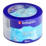 оптический диск Verbatim CD-R 43728 (50 шт)