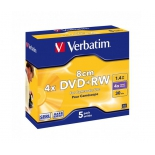 Оптический диск Verbatim DVD+RW 43565 (5 шт)