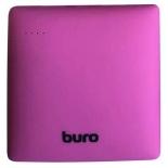 аккумулятор универсальный Мобильный аккумулятор Buro RA-7500PL-PK Pillow 7500mAh, розовый