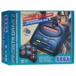 игровая приставка SEGA Magistr Drive 2, (9 встроенных игр)