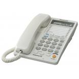 проводной телефон Panasonic KX-TS2368RUW, Белый