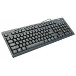 клавиатура Gembird KB-8300-BL-R PS/2, чёрная