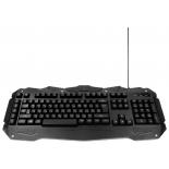 клавиатура Gembird KB-G200L USB, черная