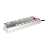 сетевой фильтр Power Cube Garant SIS-10, серебристый