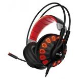 гарнитура для ПК Genius HS-G680, черно-красная