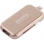 Usb-флешка ADATA i-Memory UE710 128GB, розовая, купить за 5 280руб.