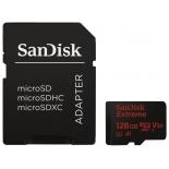карта памяти SanDisk Extreme Class 10 UHS 128Gb (с адаптером)