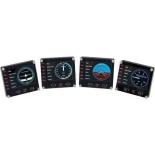 контроллер игровой специальный Logitech G Saitek Pro Flight Instrument Panel, Чёрный