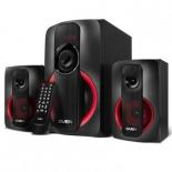 компьютерная акустика Sven MS-304, черно-красная