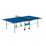 стол теннисный Start Line Olympic с сеткой синий