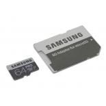 карта памяти Samsung PRO microSDXC 64Gb (C10, U3, SD-адаптер)