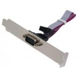 контроллер (плата расширения для ПК) Gembird CCDB9RECEPTACLE (планка COM-порта, RS-232)