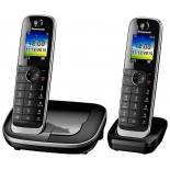 радиотелефон Panasonic KX-TGJ312RUB, Чёрный