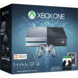 игровая приставка Microsoft Xbox One 1 ТБ коллекционная версия KF6-00012 + Halo 5