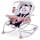 Детское кресло-шезлонг Caretero Rancho бежевое, купить за 7 670руб.