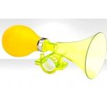 велозвонок R-Toys 71DH-02, клаксон жёлтый