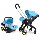 автокресло детское Simple Parenting Doona+, голубое