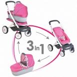 товар для детей Smoby MC&Quinny Коляска-трансформер для кукол 3-в-1