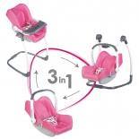 товар для детей Smoby Стульчик-переноска для куклы 3-в-1 MC&Quinny