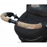 аксессуар к коляске CityGrips на ручки для универсальной коляски 511 Brown Leopard