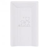 пеленальный матрас Ceba Baby 50x70 см, 3 бортика, Papa Bear, серый