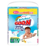 подгузник Goon 5-9 кг (62шт) S, трусики
