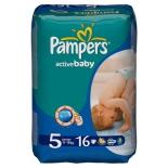 подгузник Pampers Active Baby  5, 11-18 кг  (16 шт)