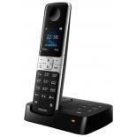 радиотелефон Philips D6351B/51, Чёрный и серебристый