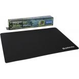коврик для мышки Defender THOR GP-700 350x260x3 мм, лайкра+ПУ, чёрный