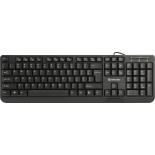 клавиатура Defender OfficeMate HM-710 RU, USB, чёрная