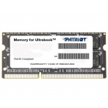 модуль памяти DDR-3 SODIMM Patriot 4096Mb pc-12800 (PSD34G1600L81S)