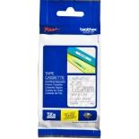 лента для печати наклеек Brother TZ-E135 12mm White