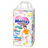 подгузник Merries 12-22 кг ( 38шт ), трусики