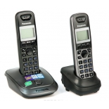 радиотелефон Panasonic KX-TG2512RU1, титан-черный