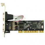 контроллер Speed Dragon PCI FG-PMIO-V3T-0002S-1-BU01 (2 внеш. 9pin)