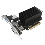 видеокарта GeForce Palit GeForce GT 710 954Mhz PCI-E 2.0 1024Mb 1600Mhz 64 bit DVI HDMI HDCP Silent (PA-GT710-1GD3H)