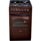 плита Лысьва ГП 400 МС-2у коричневая, без крышки