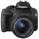 цифровой фотоаппарат Canon EOS 100D 18-55MM IS STM + 10-18MM IS STM, Черный