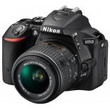 цифровой фотоаппарат Nikon D5500 KIT (AF-S DX 18-55mm VR), черный