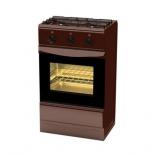 плита Terra GER 5204 Br, коричневый