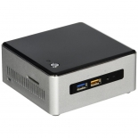 неттоп Intel NUC Kit NUC6i5SYH Swift Canyon, черный/серый
