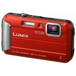 цифровой фотоаппарат Panasonic Lumix DMC-FT30 красный