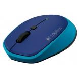 мышка Logitech M335 910-004546 Blue USB (беспроводная)
