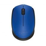 мышка Logitech M171, беспроводная, USB, синяя